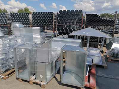 элементы промышленной вентиляции и комплектующие