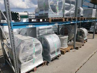 Складские запасы вентиляционного оборудования