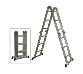 Универсальная шарнирная лестница 4-х секционная Лестница трансформер 4х5